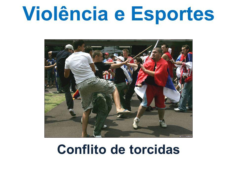 Violência e Esportes Conflito de torcidas