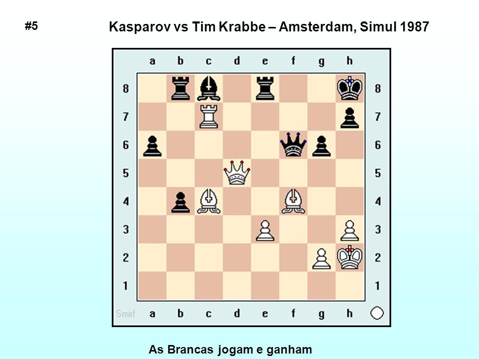 # 24 Fischer vs. Borislav Ivkov, Santa Monica, 1966 As brancas jogam e ganham