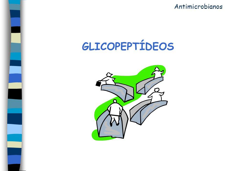 GLICOPEPTÍDEOS Antimicrobianos