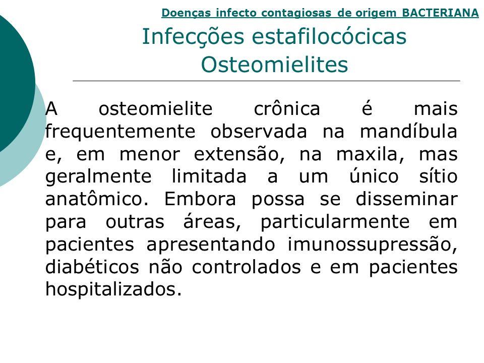 Doenças infecto contagiosas de origem BACTERIANA 3-Infecções estreptocócicas A- Escarlatina (beta hemolítico do grupo A) B- Amigdalites C- Impetigo (pyogenes ou aureus* – *Imp.