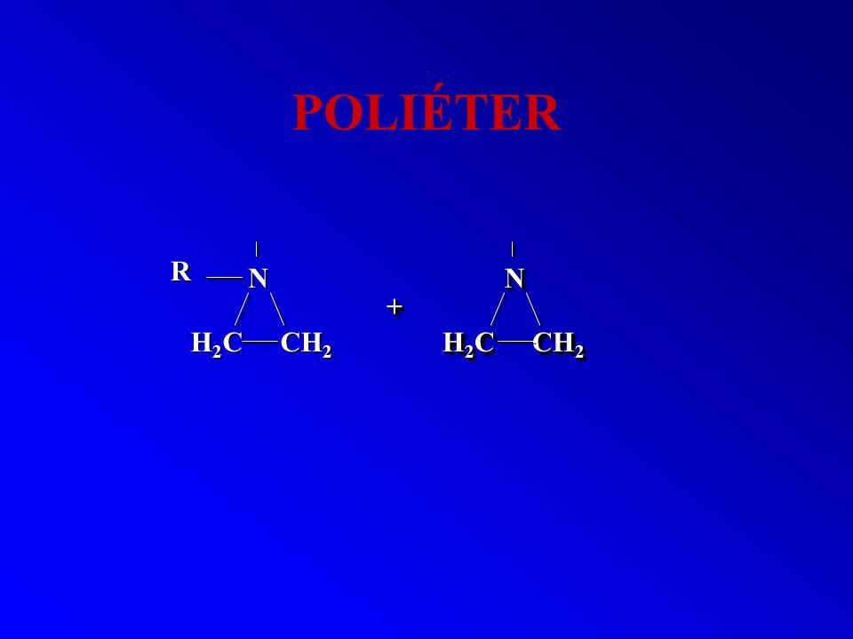 POLIÉTER NN H 2 C CH 2 ++ N R