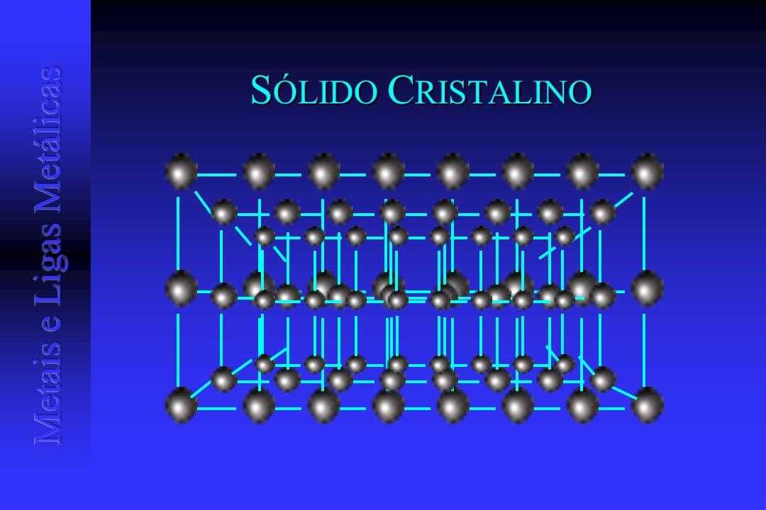 S ÓLIDO C RISTALINO