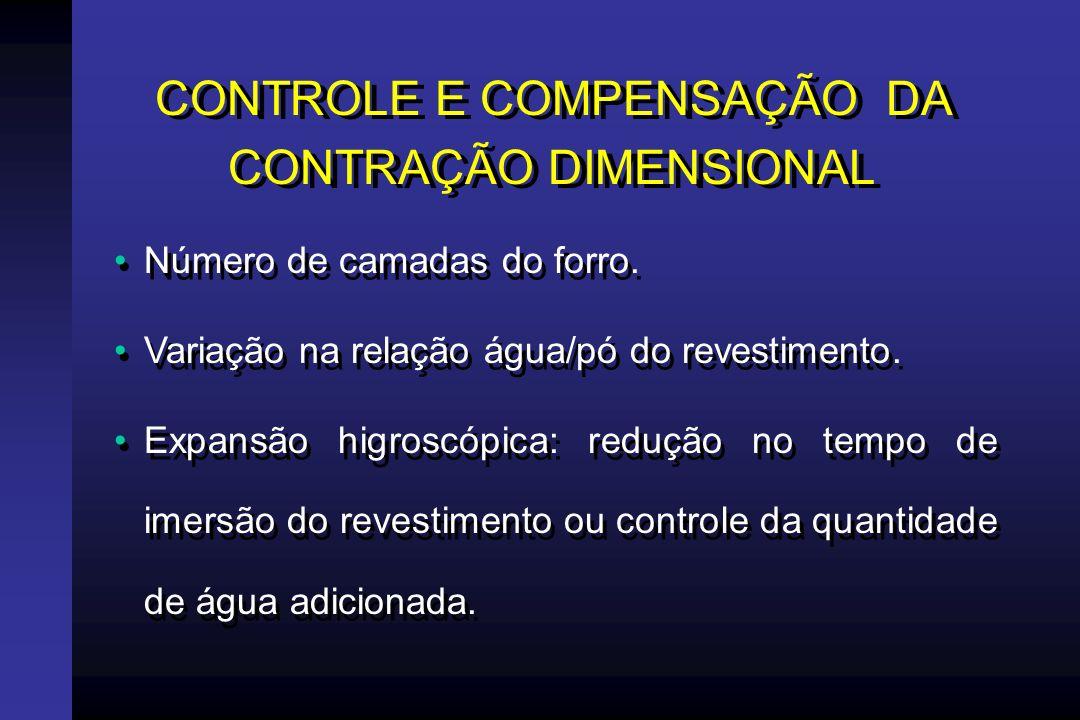 EXPANSÃO PELA ADIÇÃO CONTROLADA DE ÁGUA (ÁSGAR) Anel de borracha macio e flexível.