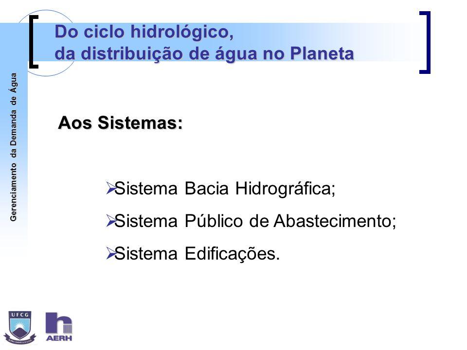Gerenciamento da Demanda de Água Estudo de GDA em Campina Grande Aquisição de dados: Entrevistas domiciliares: - Conjunto dos Professores; - Santo Antônio.