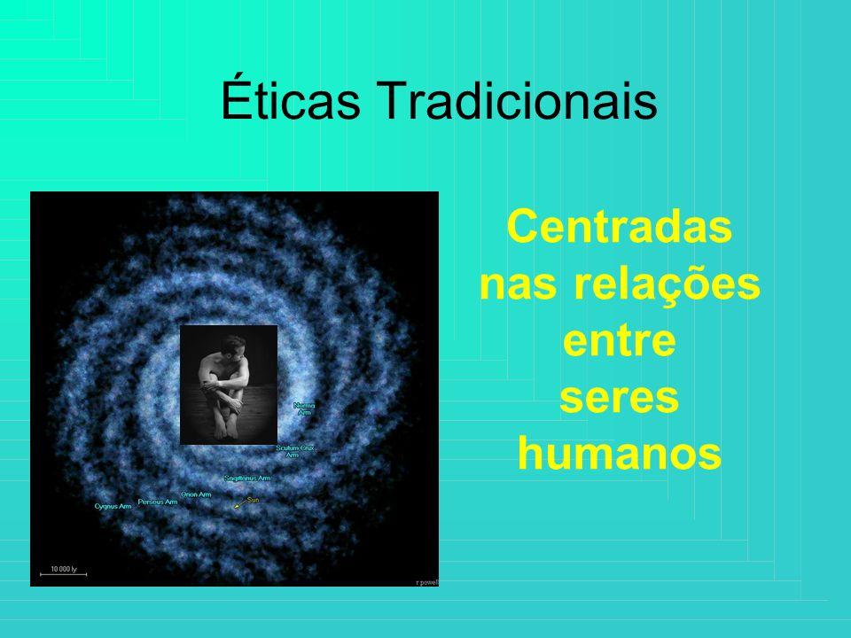 Éticas Tradicionais Centradas nas relações entre seres humanos