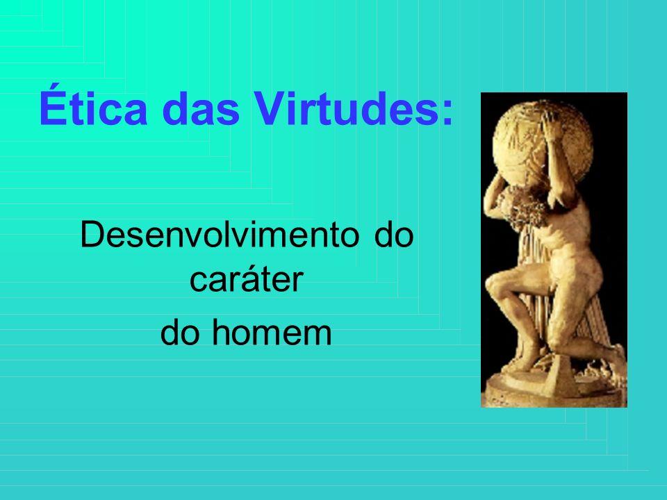Ética das Virtudes: Desenvolvimento do caráter do homem