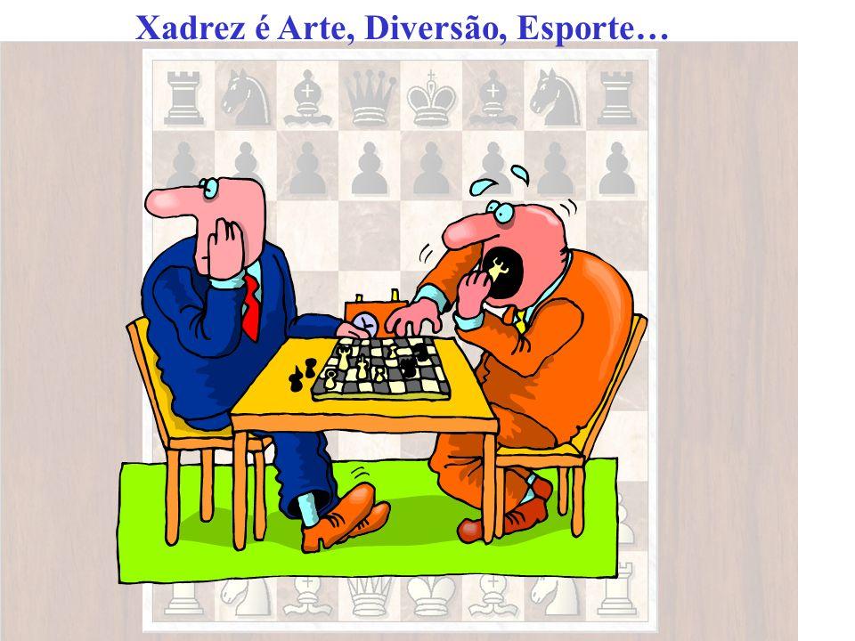 Xadrez é Arte, Diversão, Esporte…