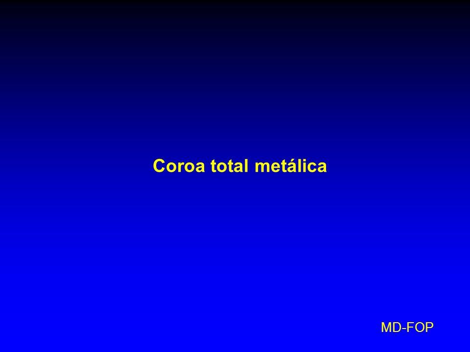 MD-FOP Coroa total metálica