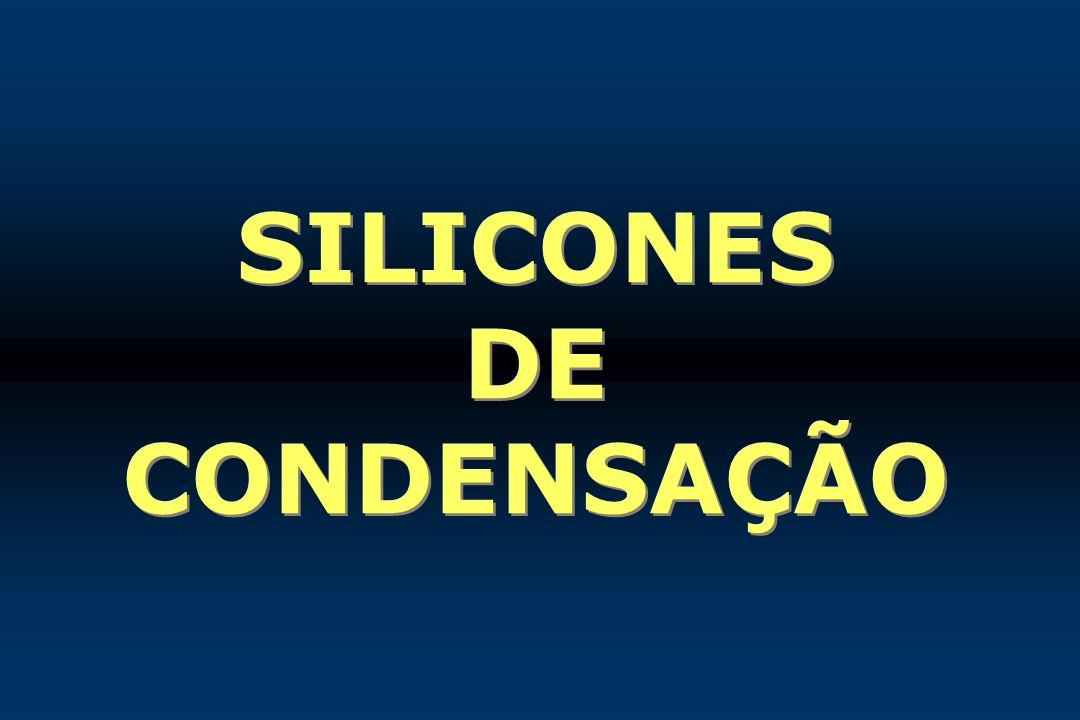 SILICONES DE CONDENSAÇÃO
