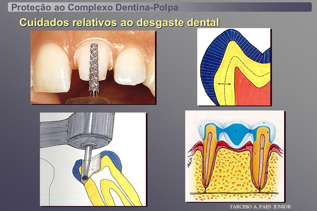 TARCISIO A. PAES JUNIOR Cuidados relativos ao desgaste dental Proteção ao Complexo Dentina-Polpa