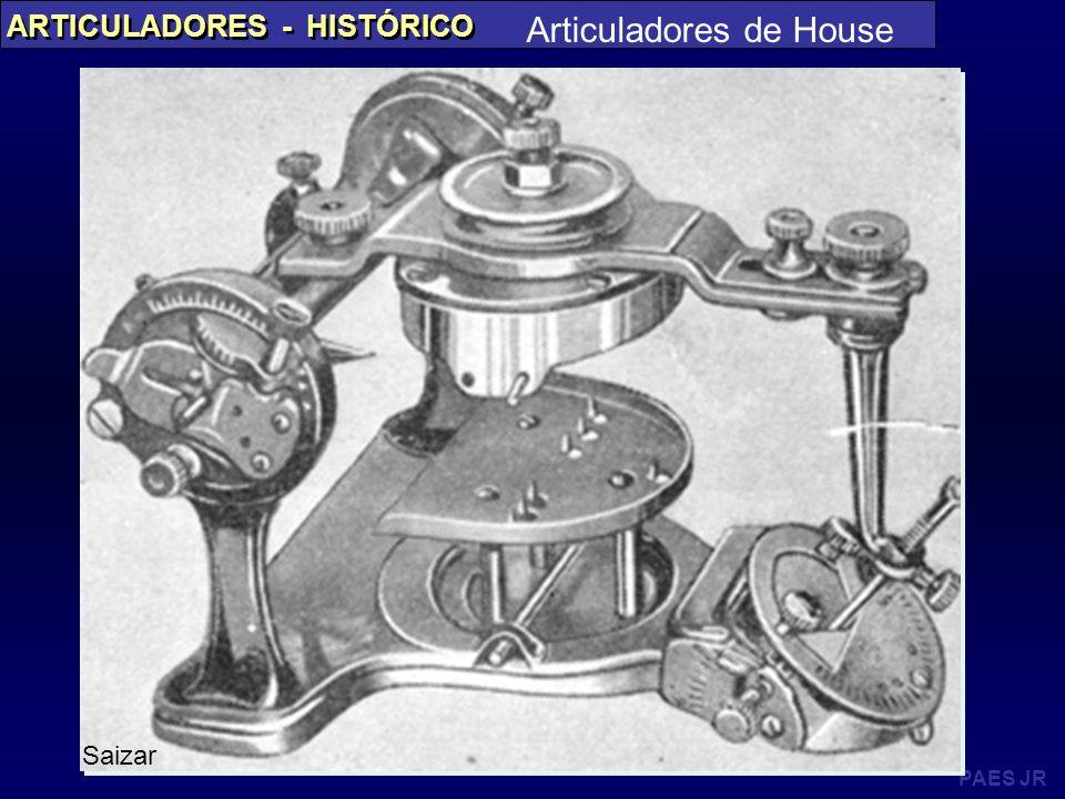 PAES JR ARTICULADORES - HISTÓRICO Articuladores de House Saizar