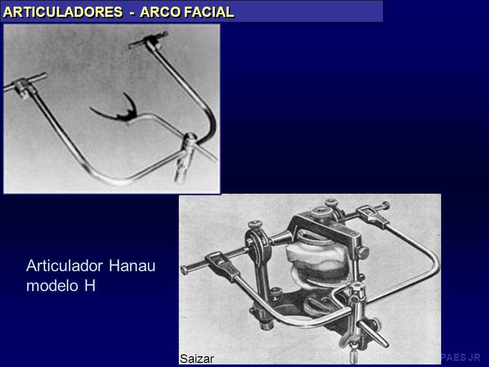 PAES JR ARTICULADORES - ARCO FACIAL Articulador Hanau modelo H Saizar