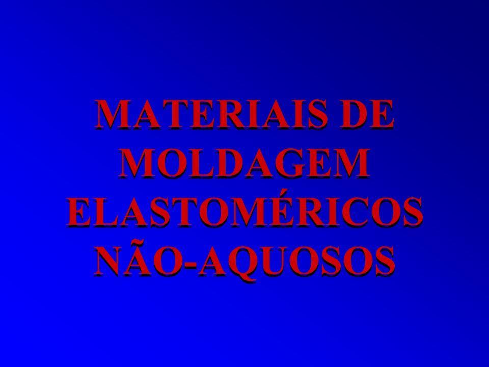 MATERIAIS DE MOLDAGEM ELASTOMÉRICOS NÃO-AQUOSOS