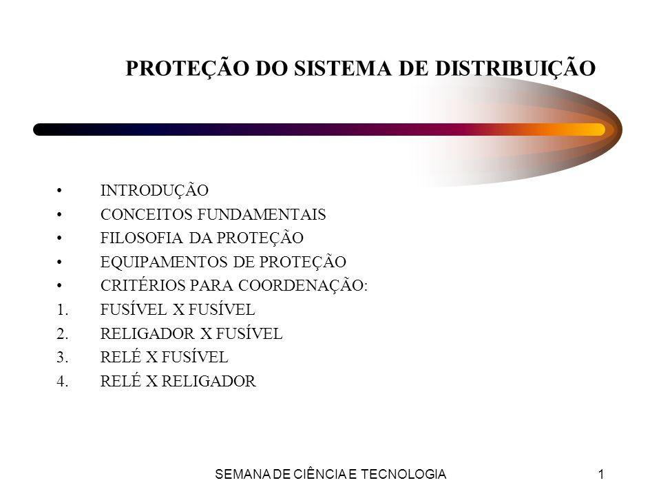 SEMANA DE CIÊNCIA E TECNOLOGIA12 Disjuntores e Relés