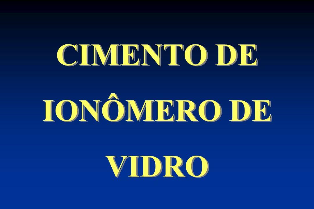 CIMENTO DE IONÔMERO DE VIDRO