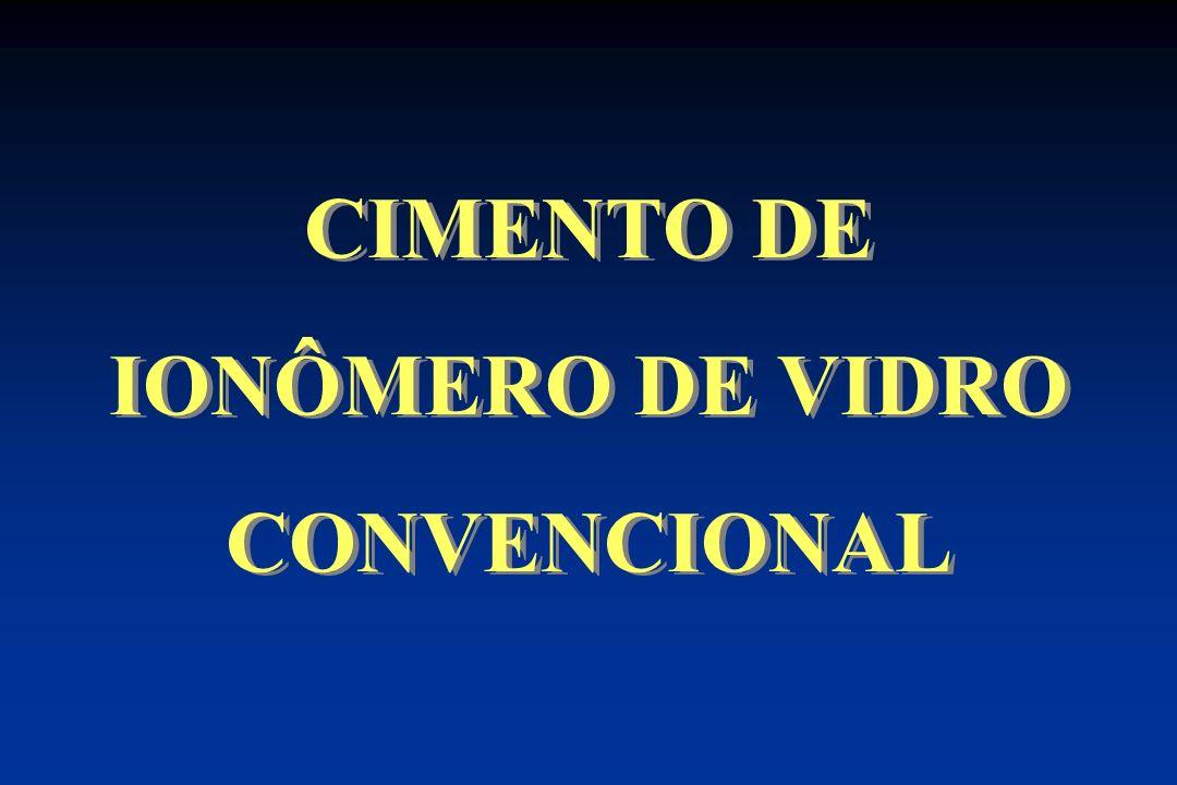 CIMENTO DE IONÔMERO DE VIDRO CONVENCIONAL