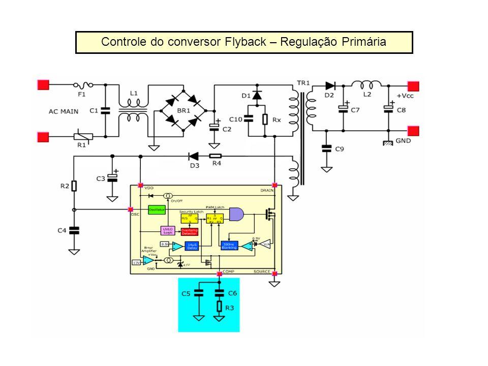 Controle do conversor Flyback – Regulação Primária