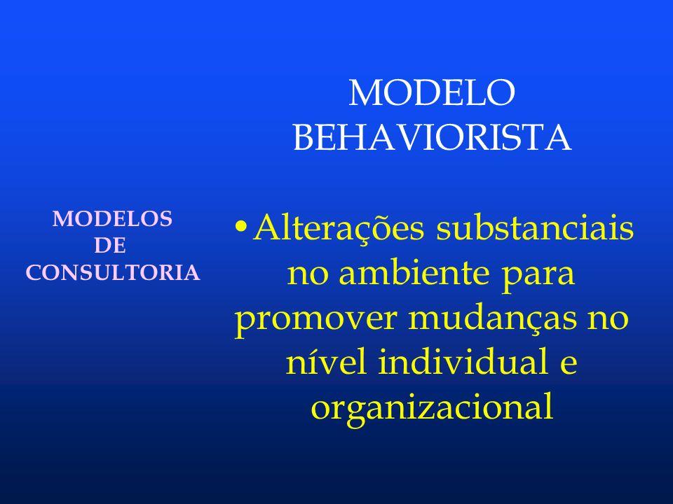 MODELOS DE CONSULTORIA MODELO CAPLAN cliente consultando programa administrador do programa