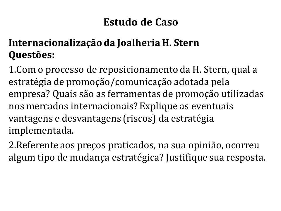 Estudo de Caso Internacionalização da Joalheria H.