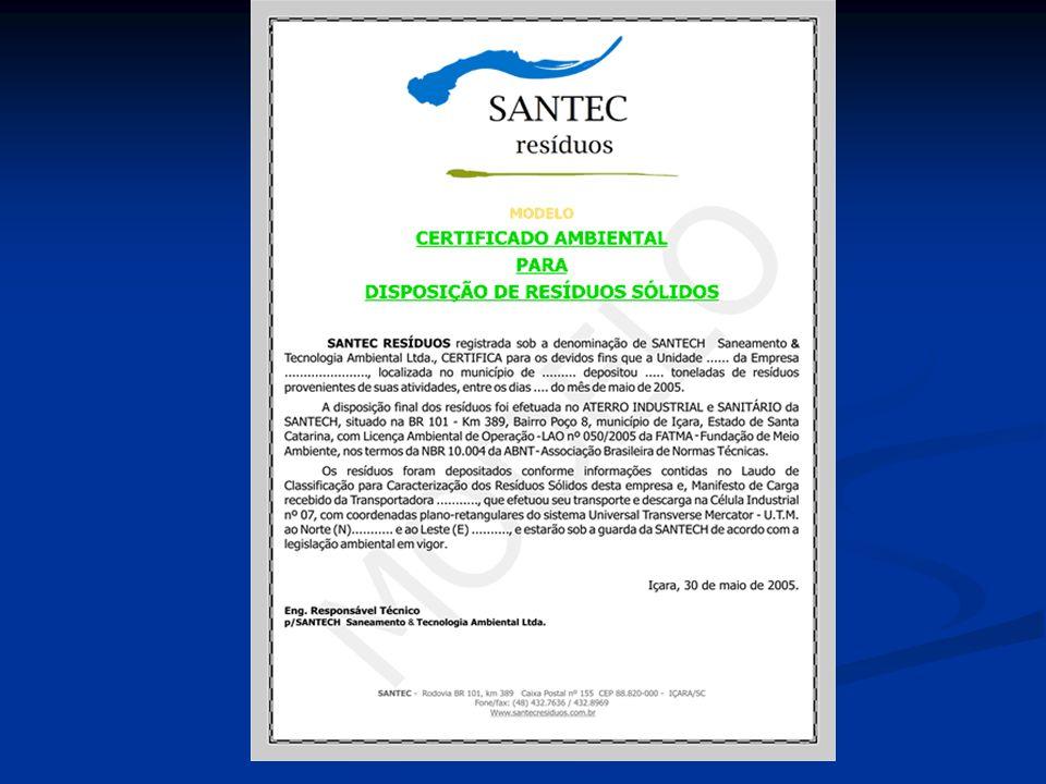 ISO 14001: BRASIL - CERTIFICADORAS FONTE: INMETRO