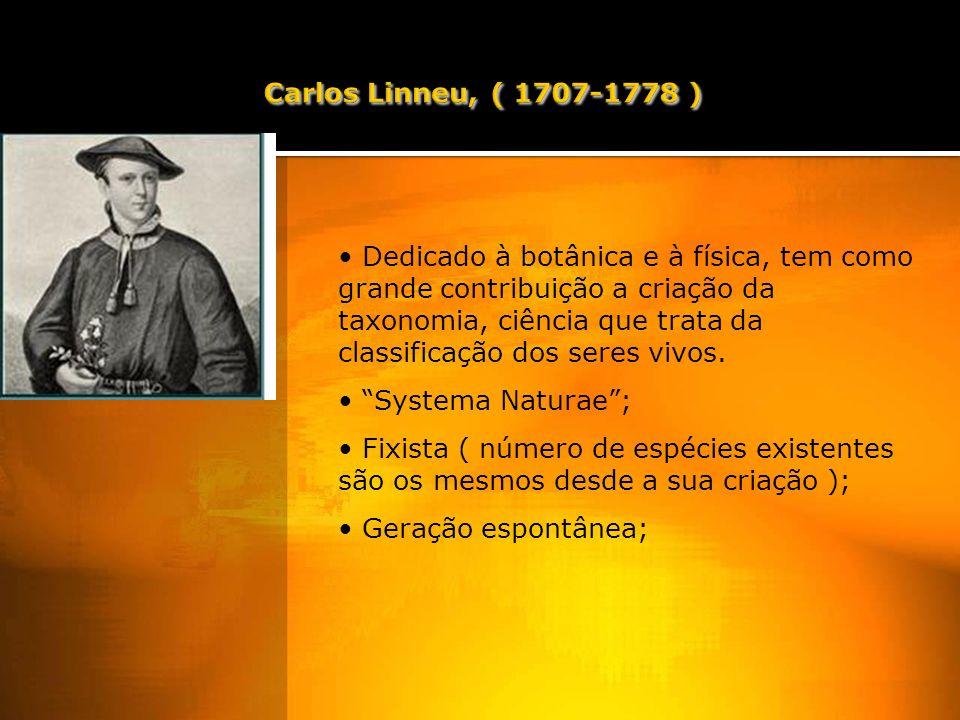 Dedicado à botânica e à física, tem como grande contribuição a criação da taxonomia, ciência que trata da classificação dos seres vivos.