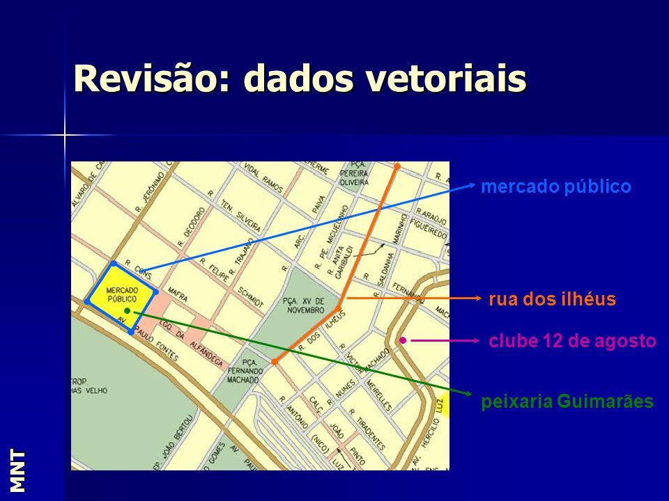 MNT mercado público rua dos ilhéus clube 12 de agosto peixaria Guimarães Revisão: dados vetoriais