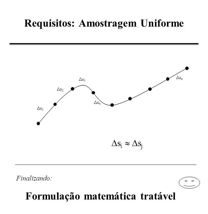B-Spline Periódica - Interpolação - V n+1 = V 0 V n+1 =V 1 V2V2 V3V3 V4V4 V -1 = V n Para i=0,..., n P i (0) = (V i-1 + 4V i + V i+1 )/6; P0(0)P0(0) P1(0)P1(0) P2(0)P2(0) P3(0)P3(0) P4(0)P4(0) Pn(0)Pn(0) Considere os nós como os pontos dados vértices + nós