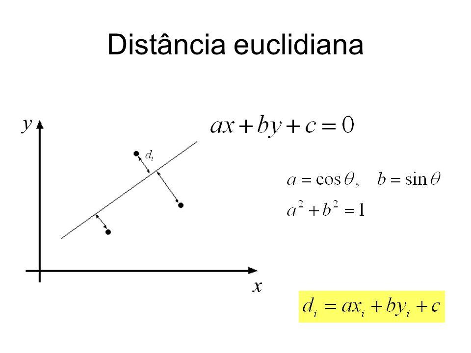 x y Distância euclidiana didi