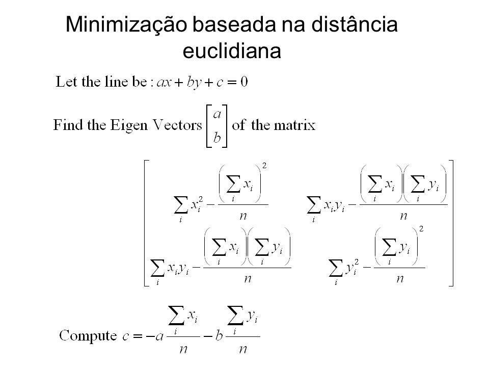 Minimização baseada na distância euclidiana