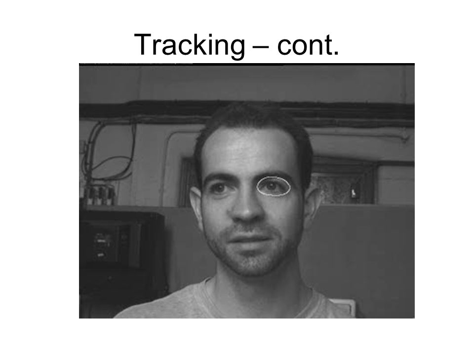 Tracking – cont.