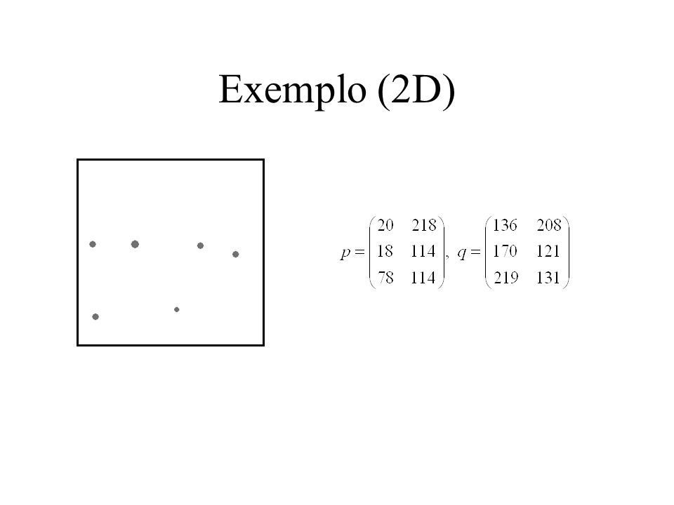 Exemplo (2D)