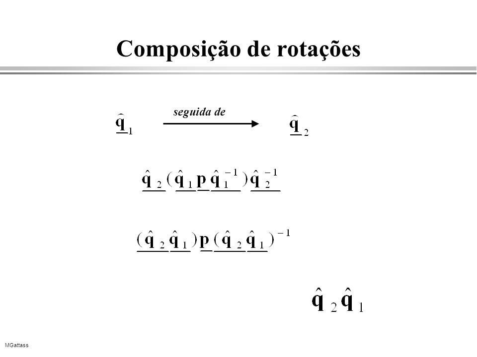 MGattass Composição de rotações seguida de