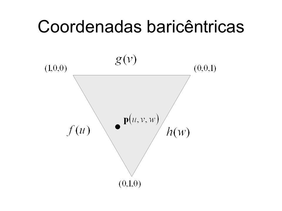 Coordenadas baricêntricas