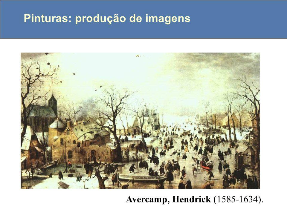 Pinturas: produção de imagens Avercamp, Hendrick (1585-1634).
