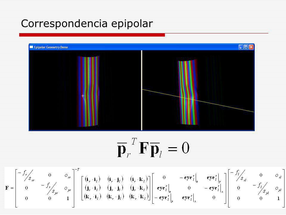 Correspondencia epipolar
