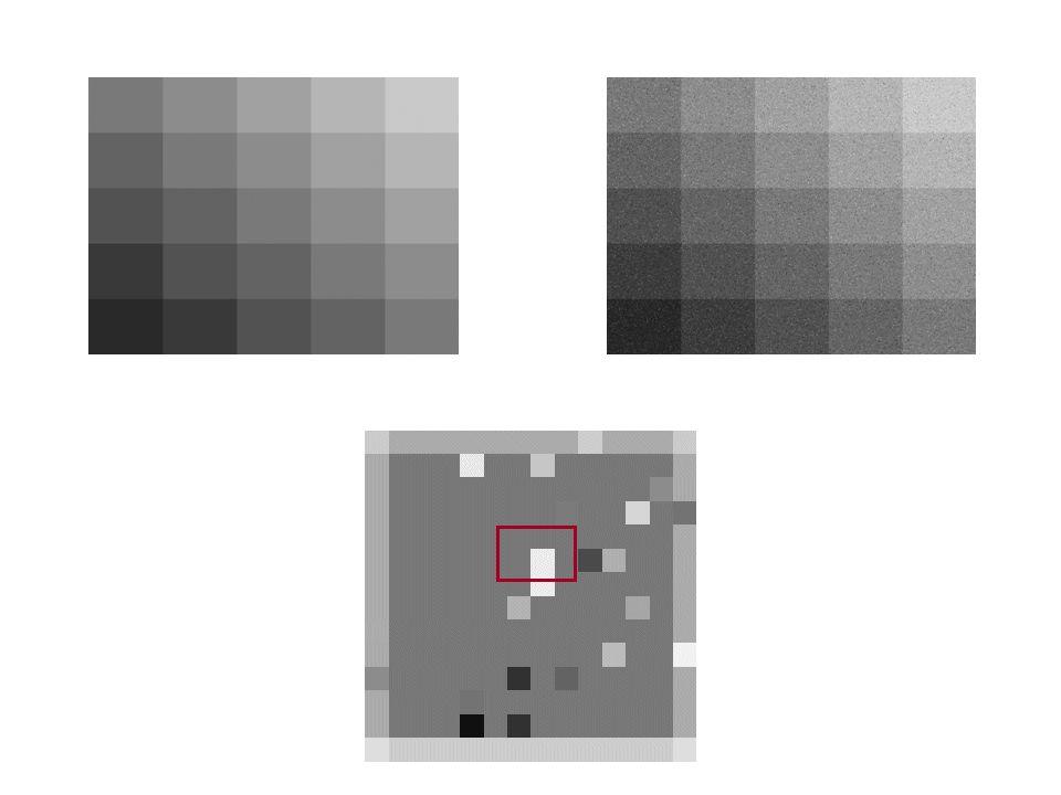 Filtragem nos domínios espacial e de freqüência Filtragem no domínio espacial pode ser obtida pela convolução Filtragem no domínio da frequencia pode ser obtida por uma transformada, seguida de um produto e de uma transformada inversa.