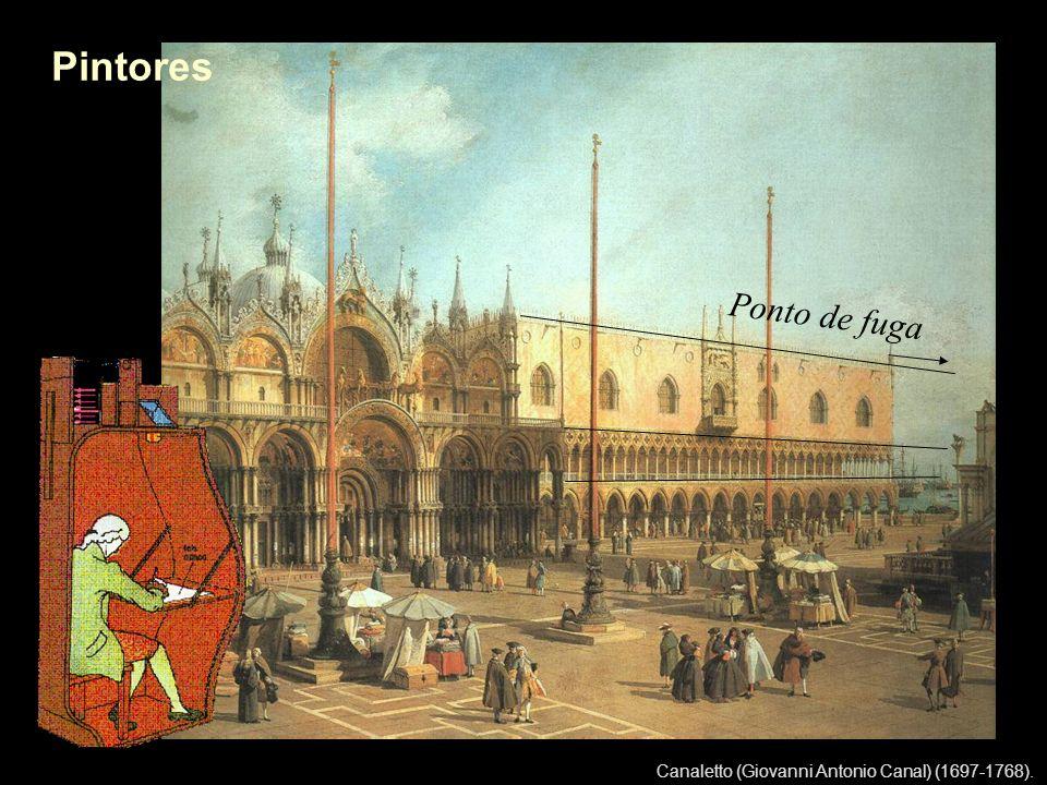 Canaletto (Giovanni Antonio Canal) (1697-1768). Pintores Ponto de fuga