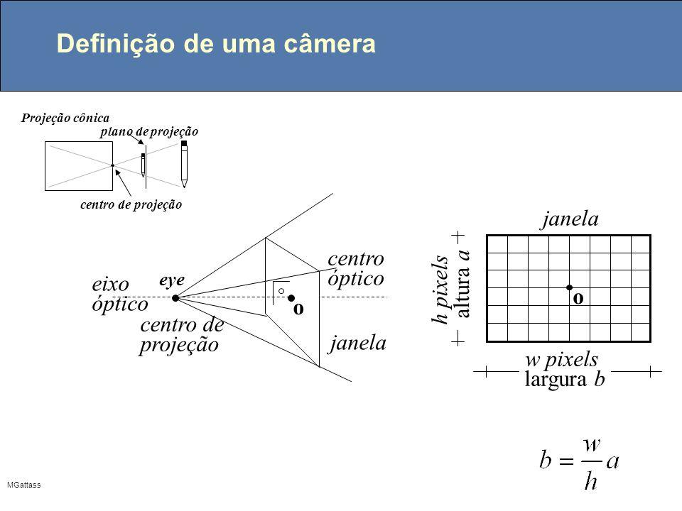 MGattass Coordenadas baricêntricas como funções interpolantes p1p1 pipi A3A3 A1A1 A2A2 1 1 1 L1L1 L2L2 L3L3 p3p3 p2p2