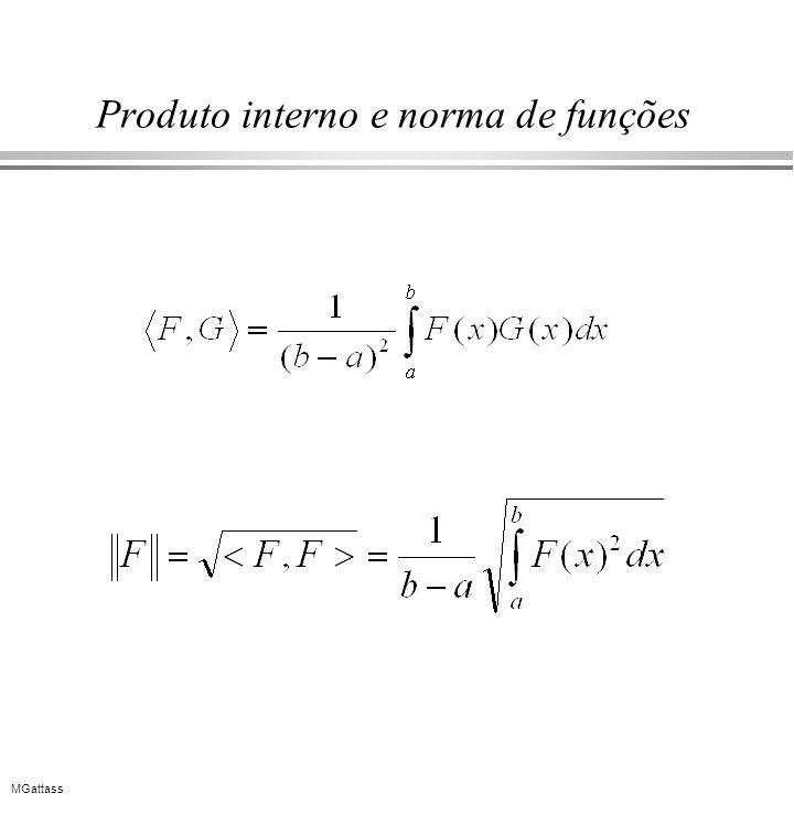 MGattass Produto interno e norma de funções