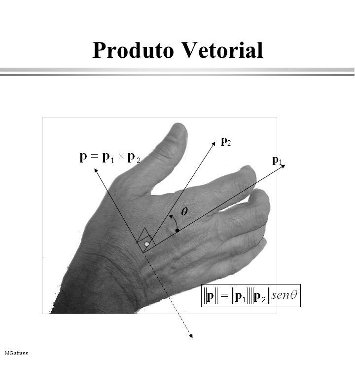 MGattass Produto Vetorial p1p1 p2p2