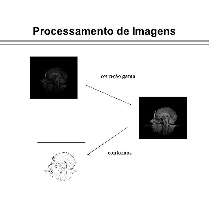 Processamento de Imagens correção gama contornos