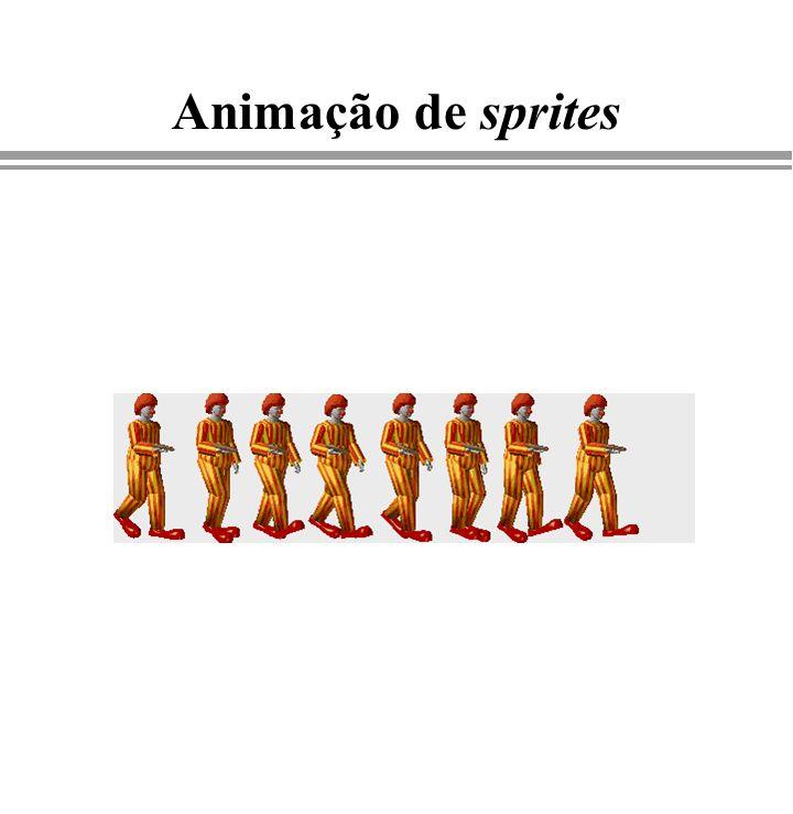 Animação de sprites