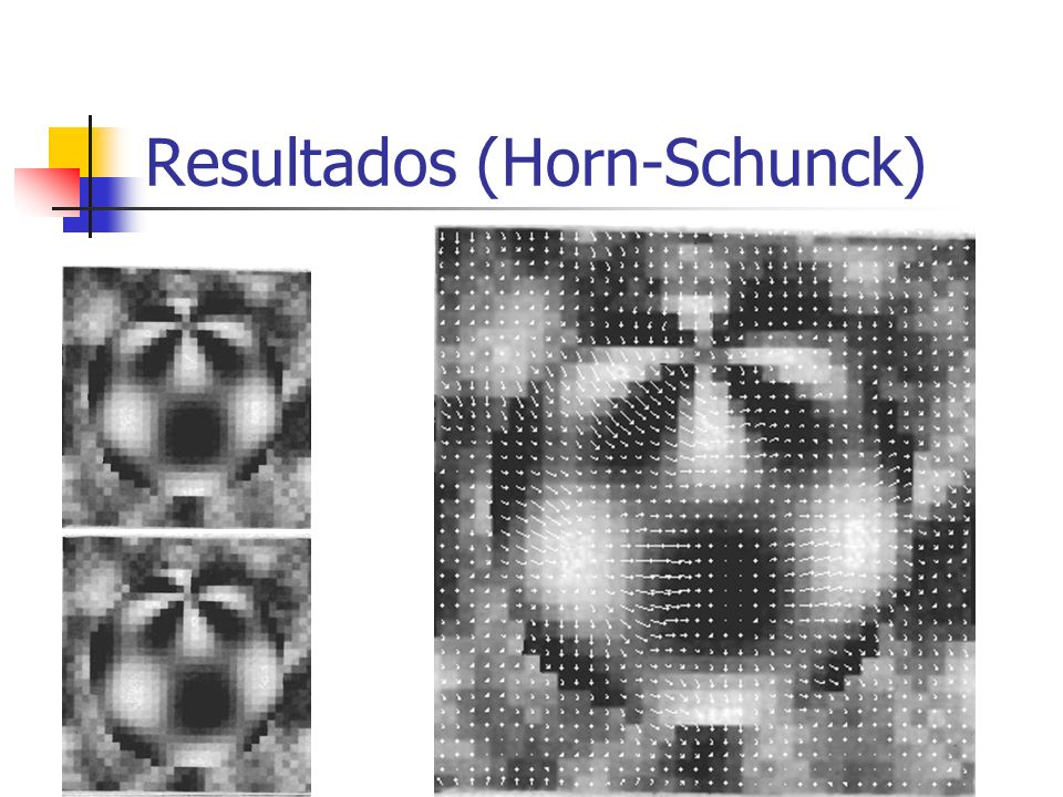 Resultados (Horn-Schunck)