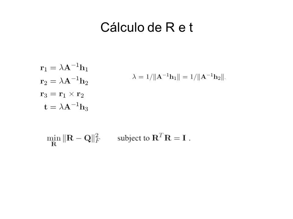 Cálculo de R e t