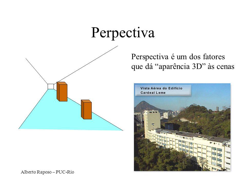 Alberto Raposo – PUC-Rio Perpectiva Perspectiva é um dos fatores que dá aparência 3D às cenas