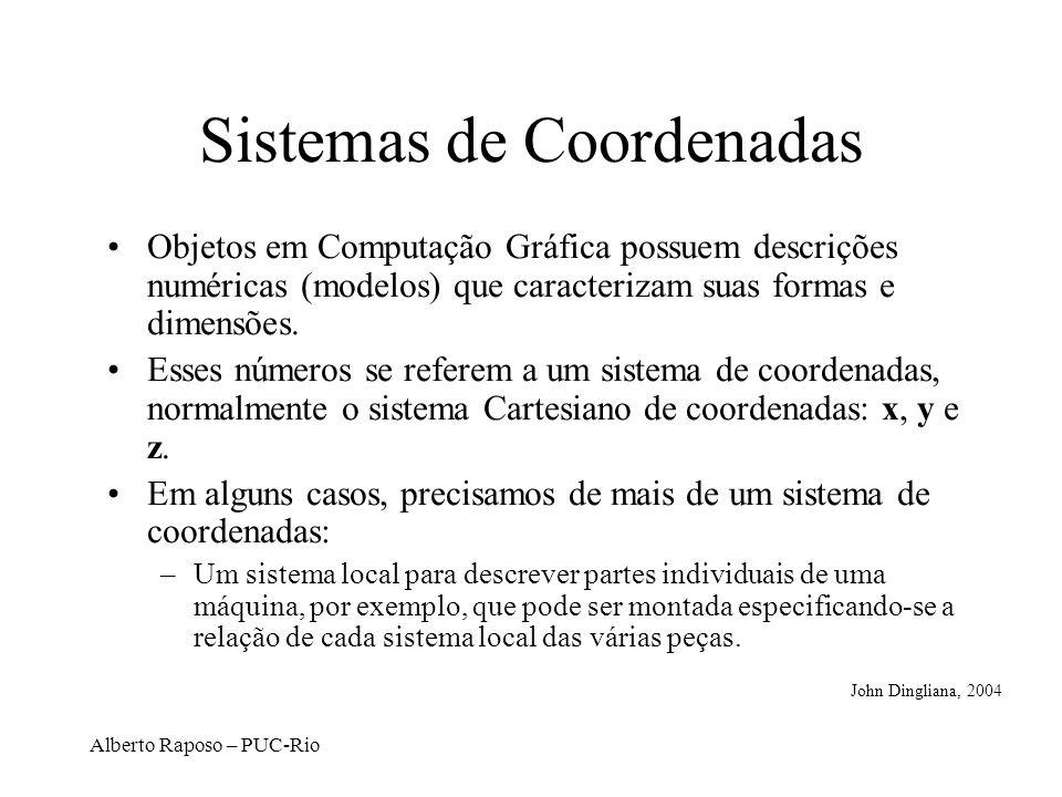 Alberto Raposo – PUC-Rio Translação 2D y x x y M. Gattass, PUC-Rio