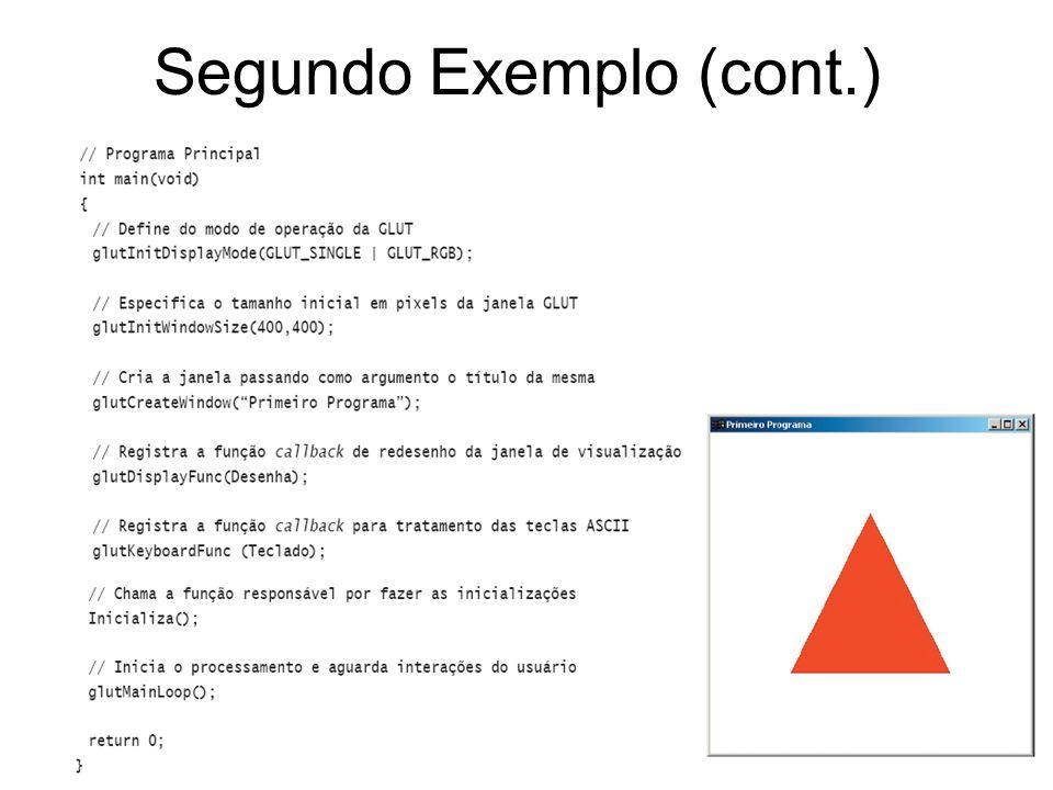 Segundo Exemplo (cont.)