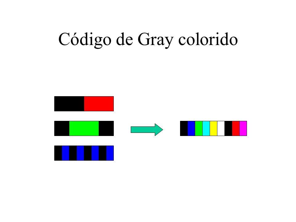 Código de Gray colorido