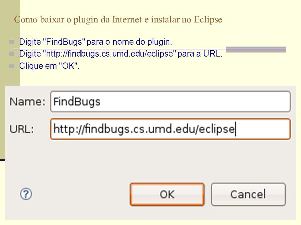 March 09 Prof. Ismael H. F. Santos 20 Como usar no Eclipse Clique em Select... .