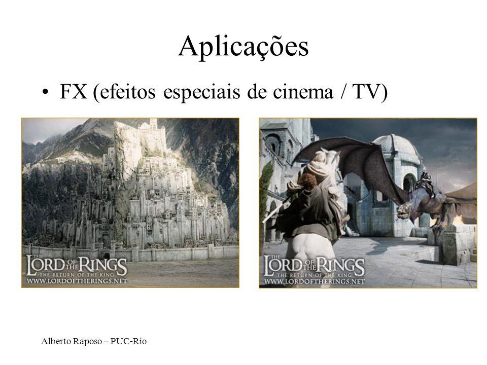 Alberto Raposo – PUC-Rio Aplicações FX (efeitos especiais de cinema / TV)